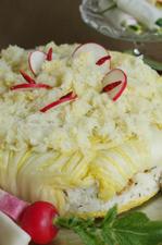 お漬物とジャコご飯のメハリ風